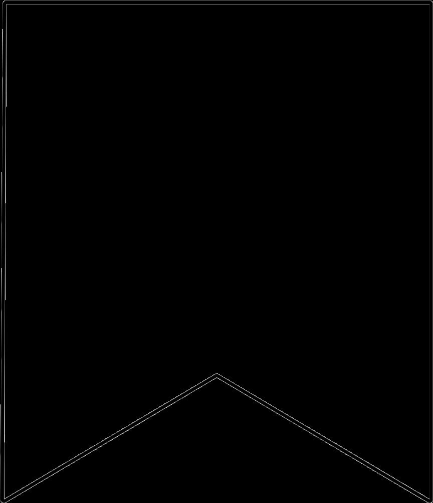 Download HD White Banner Transparent Image.