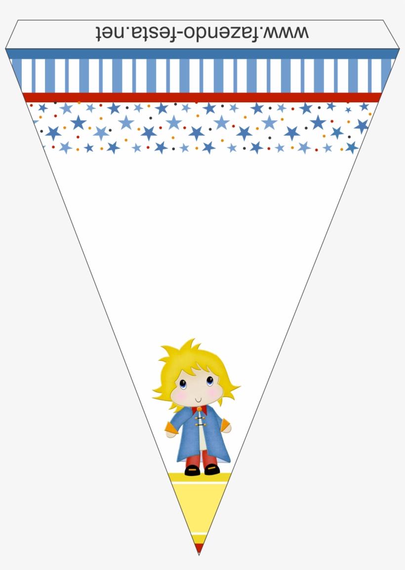 Kit Pequeno Príncipe Bandeirolas.