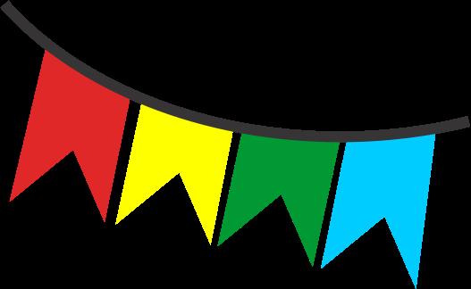 Bandeirinha De Festa Junina Png Vector, Clipart, PSD.