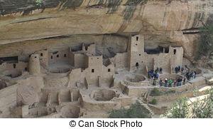 Stock Photographs of Anasazi dwellings.