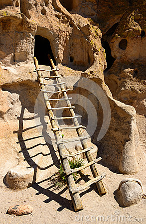 Bandelier National Monument Stock Images.