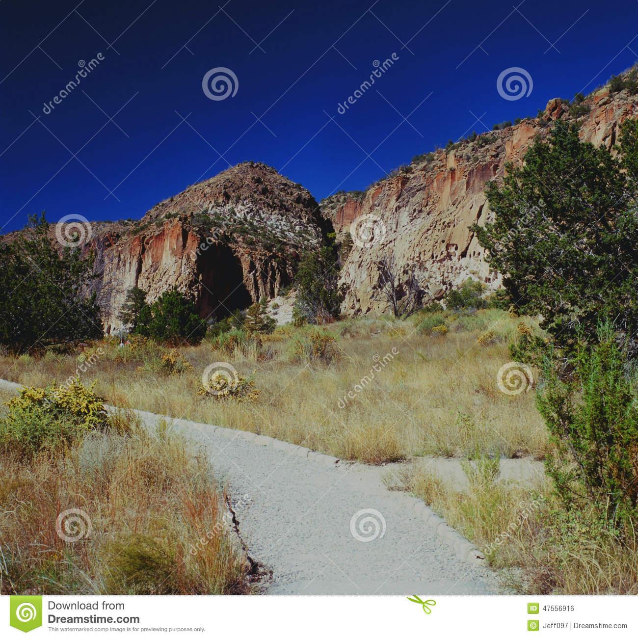 Bandelier National Monument.