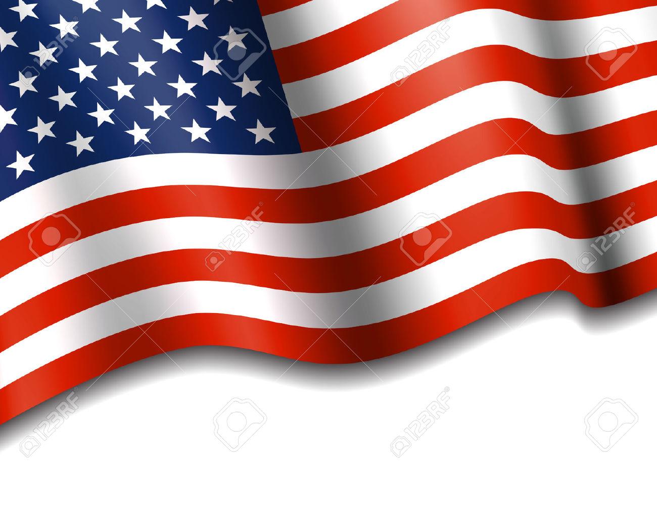 Bandera Americana De Las Barras Y Estrellas De Fondo Ilustraciones.
