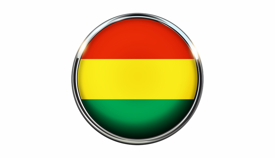 Bolivia, Flag, Circle, Screen Saver.