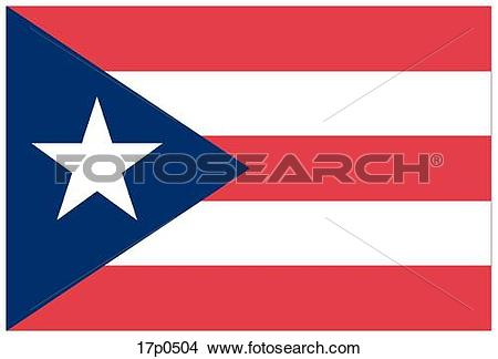 Clipart of Puerto Rico.