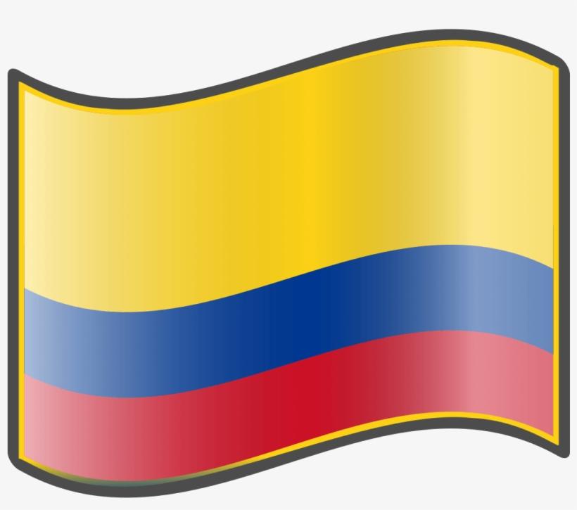 Bandera Colombiana Dibujada.