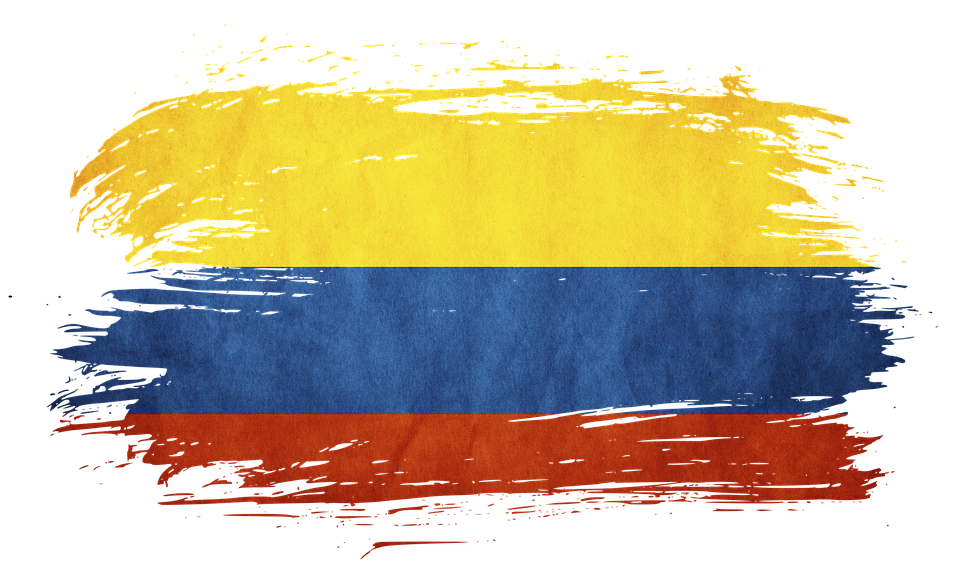 Flag Colombia.