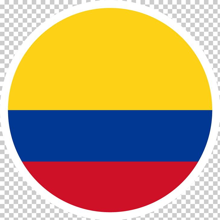 Bandera de los iconos de computadora de colombia diseño de.