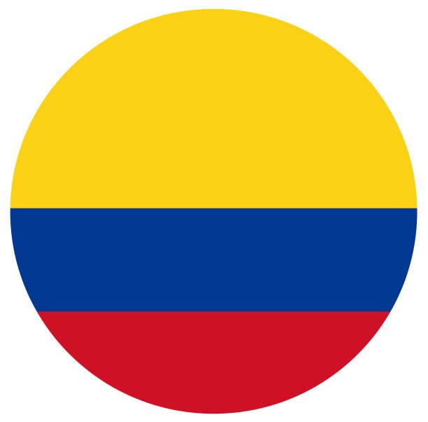 Bandera Colombiana Vectores Libres de Derechos.