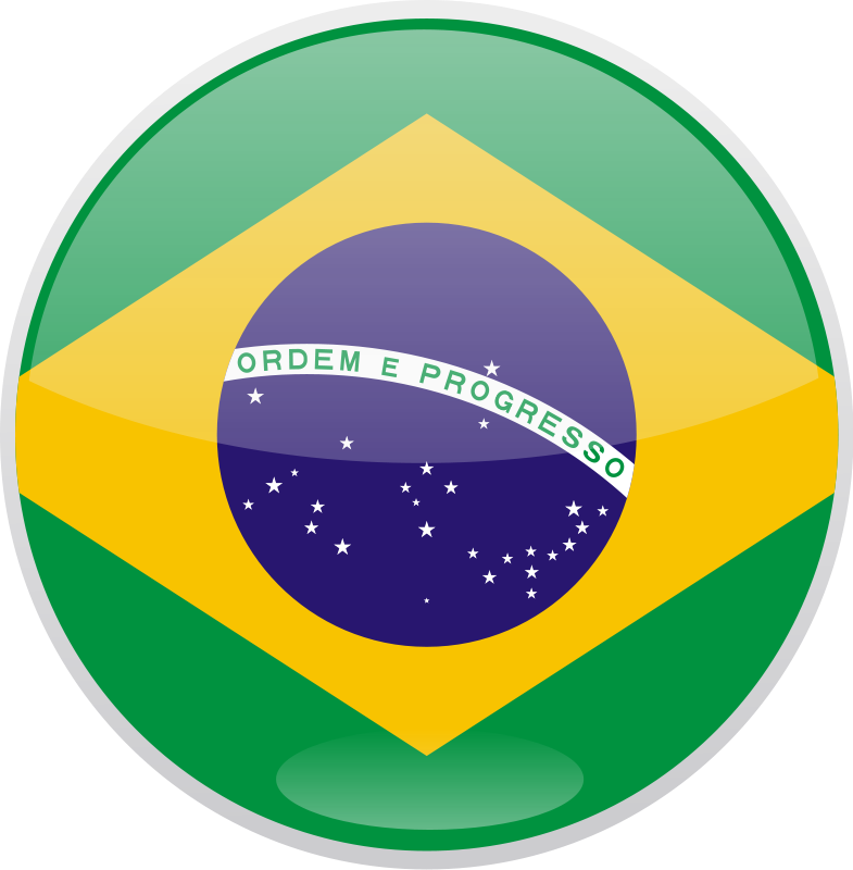 Flag of Brazil Free Vector.