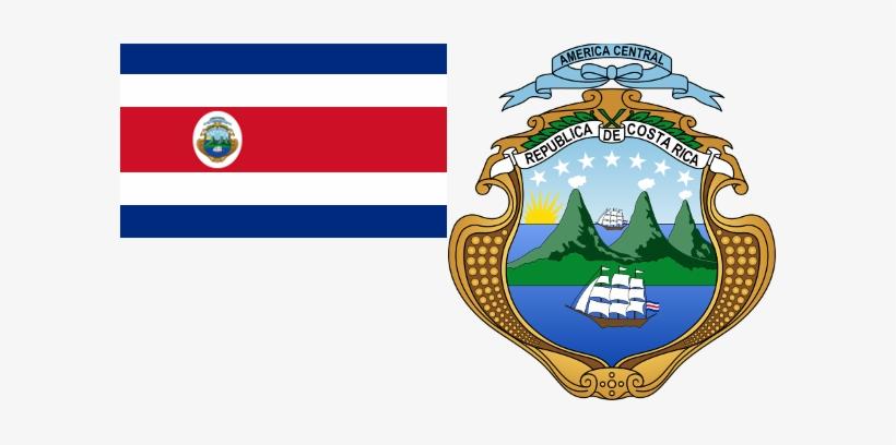 Costa Rica Flag & Coat.