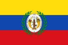 Bandera de Ecuador.