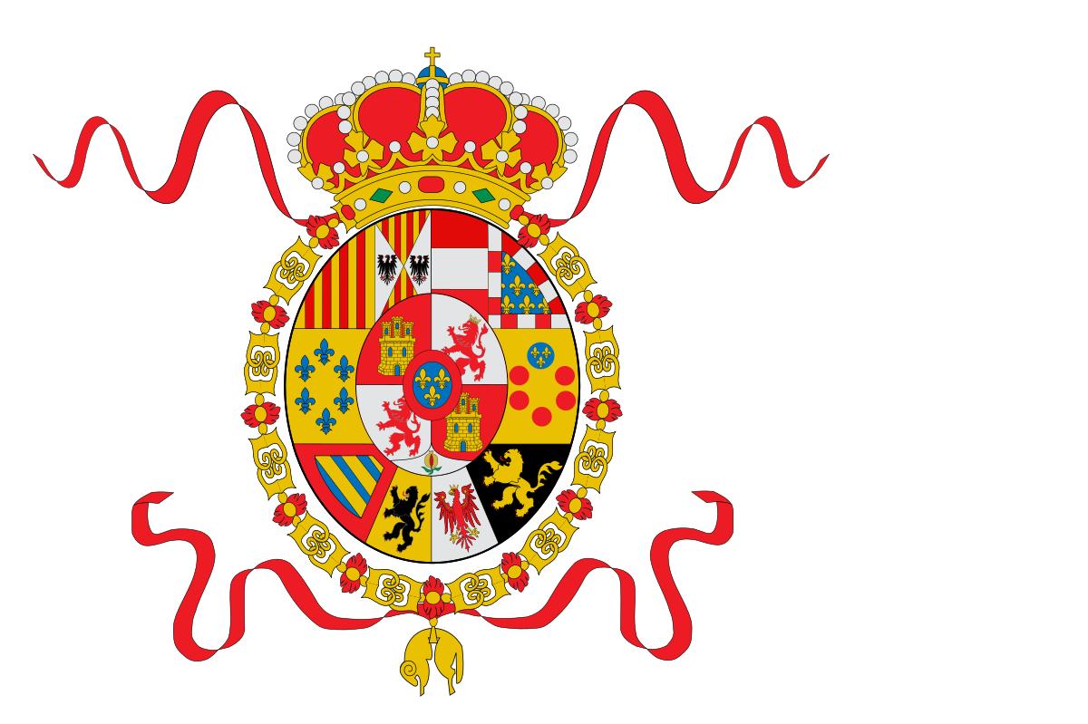 File:Bandera de España 1760.