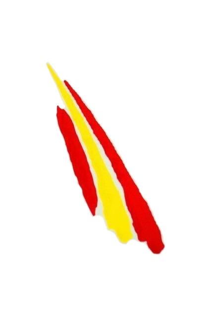 Pegatina Bandera España Trazo alargado.