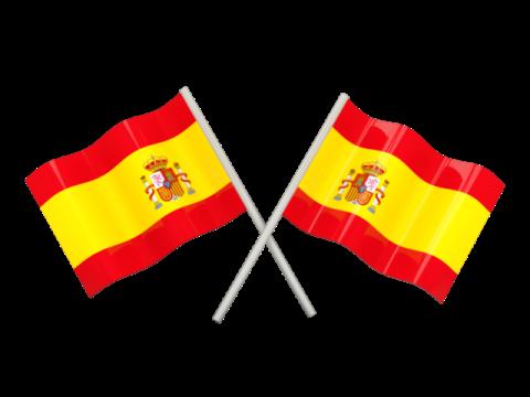 Imágenes de la bandera de España.