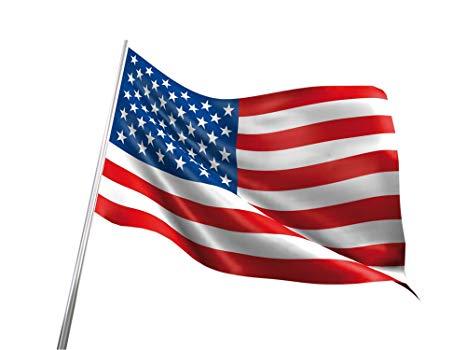 BANDERA EE.UU USA ESTADOS UNIDOS GRANDE 150 Cm 1,5 Metros ORIGINAL en TELA.
