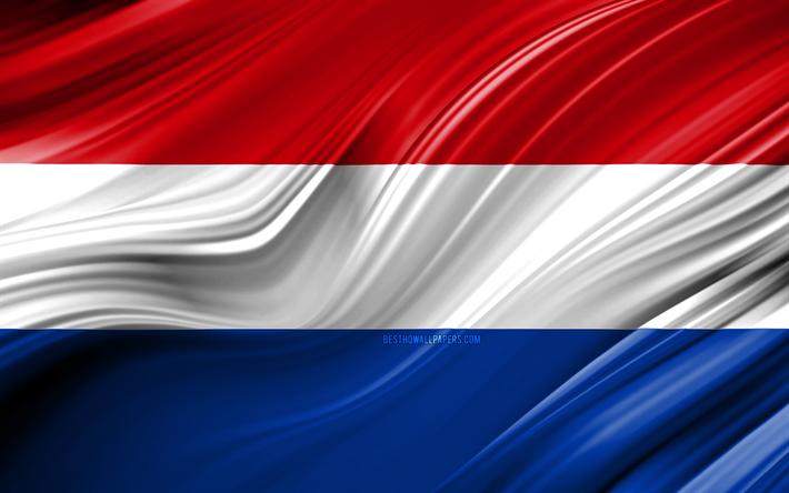 Descargar fondos de pantalla 4k, de bandera holandesa, países.