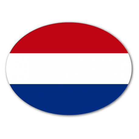 pegatina bandera holanda.