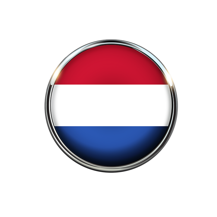 Holanda Bandera Paises Bajos.