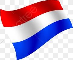 Bandera Holandesa Cartoon Elementos, Cartoon, Países Bajos, Bandera.