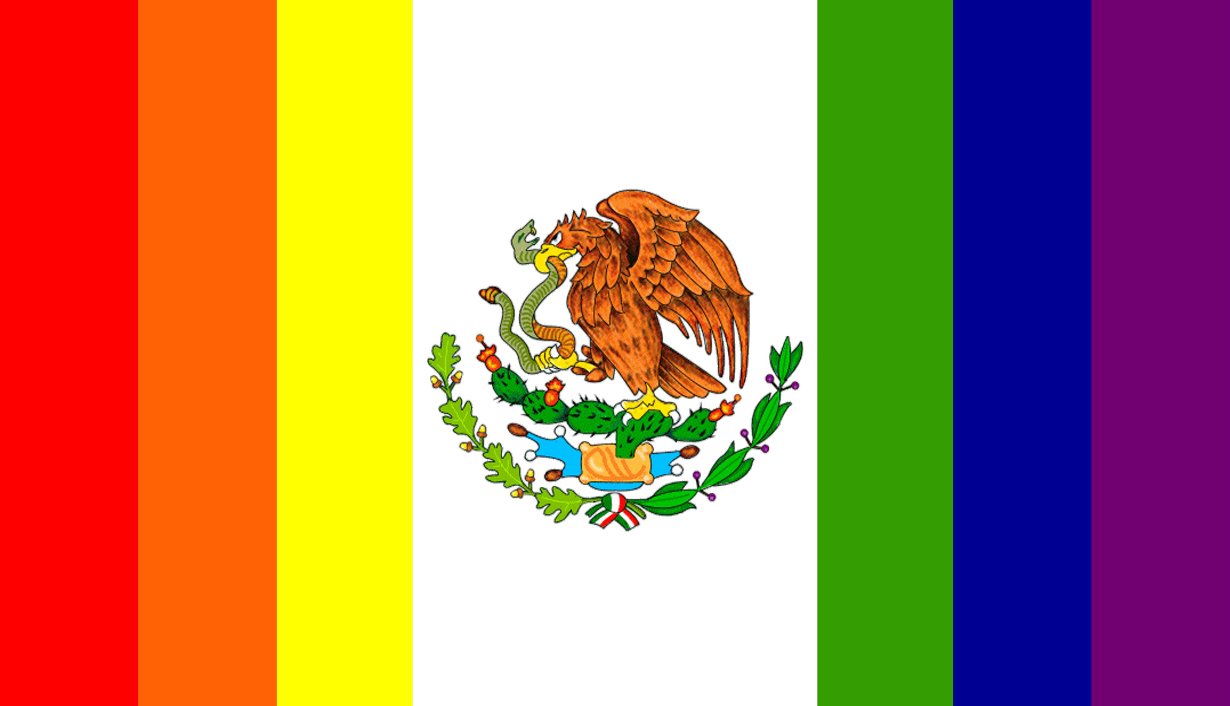 File:Bandera LGBT del Mexico.png.