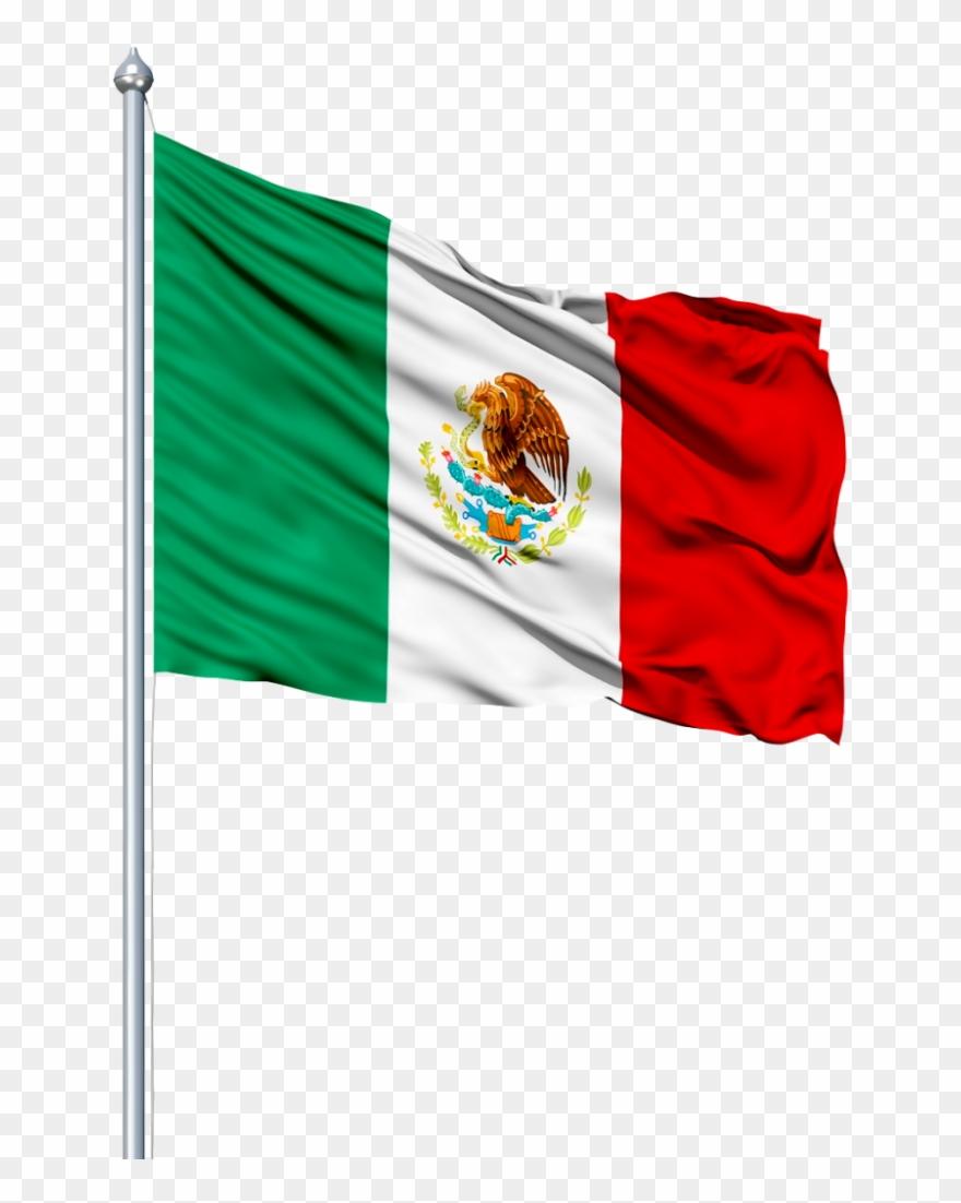 Bandera Mexico Png.