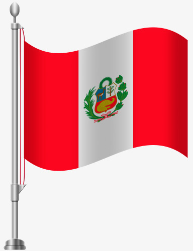 Flag Of Peru Free Buckle Material, Flag Clipart, Peru, Flag PNG.