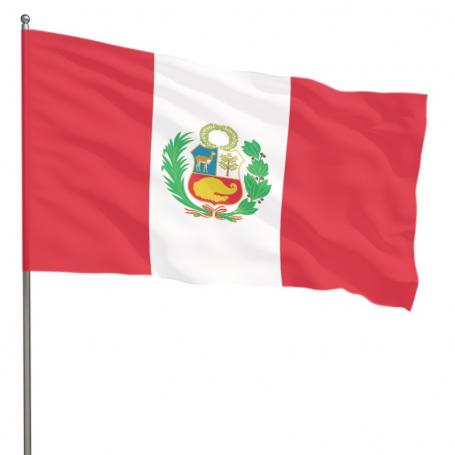 Bandera de Perú 70 x 110 cm.