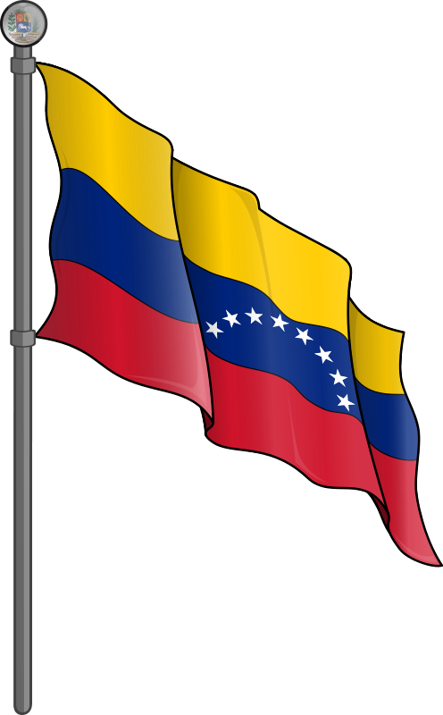 Free Clipart: Bandera de Venezuela.