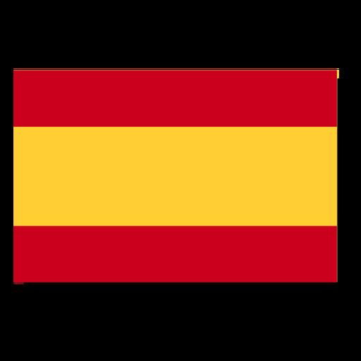 Icono de idioma de la bandera de españa.