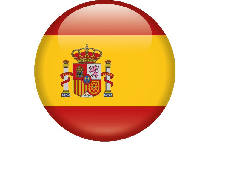 Bandera españa redonda png 4 » PNG Image.