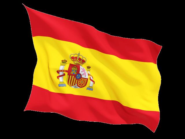 Bandera España PNG transparente.
