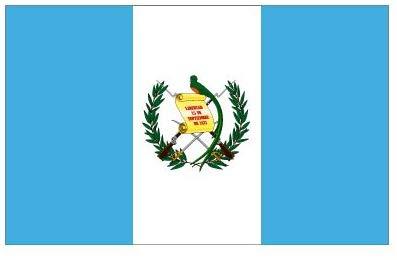 3x5 Guatemala Flag Guatemalan Country Banner Central America Pennant Bandera.