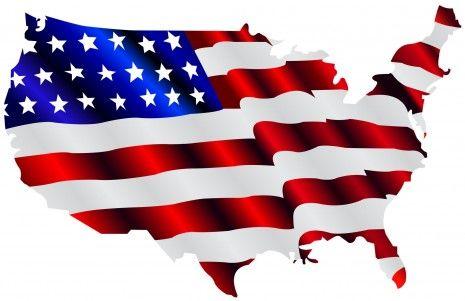 Imagenes de la bandera estadounidense.