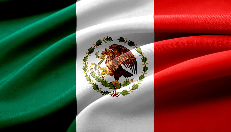 Bandera Mexicana México.