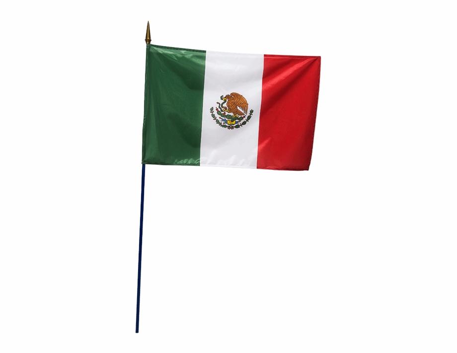 Bandera Mexicana 60 X 90 Cm.