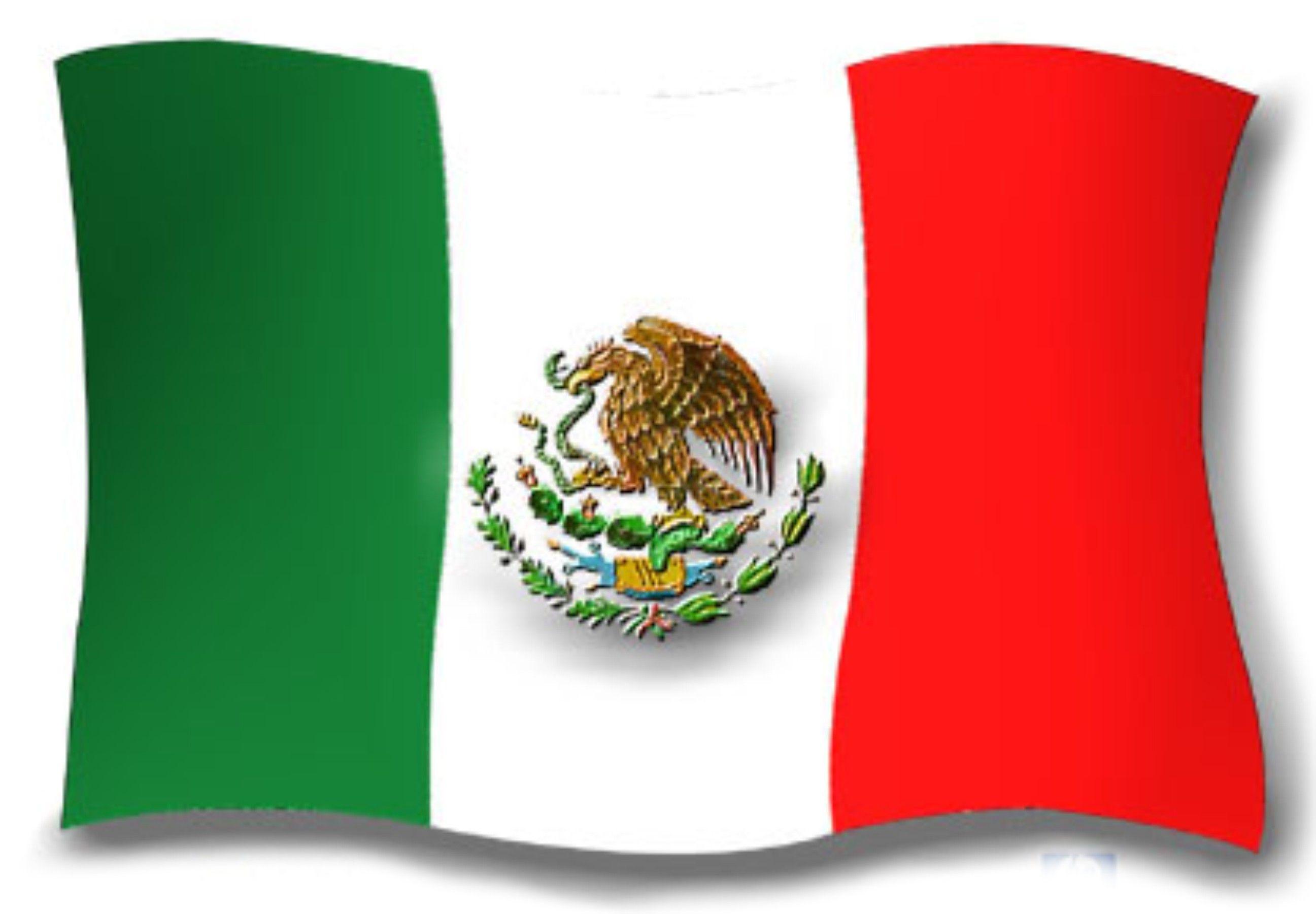 Bandera de Mexico.
