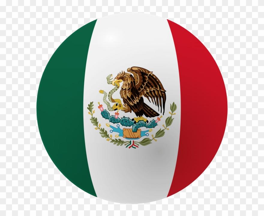 Bandera De Mexico Clipart.