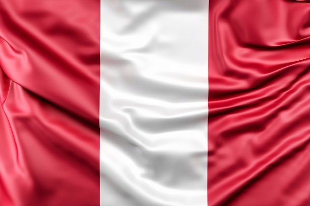 Bandera Peru.