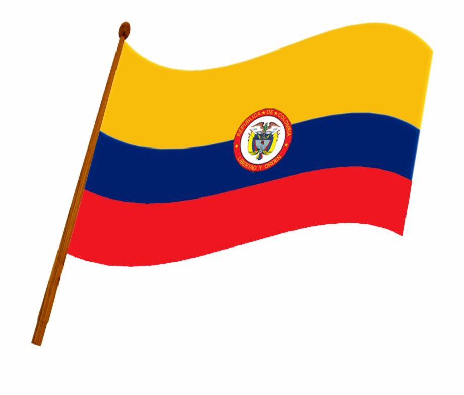 Bandera De La Repblica De Colombia Flag.