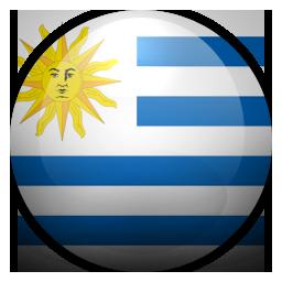 Uruguay Flag Logo Png Images.