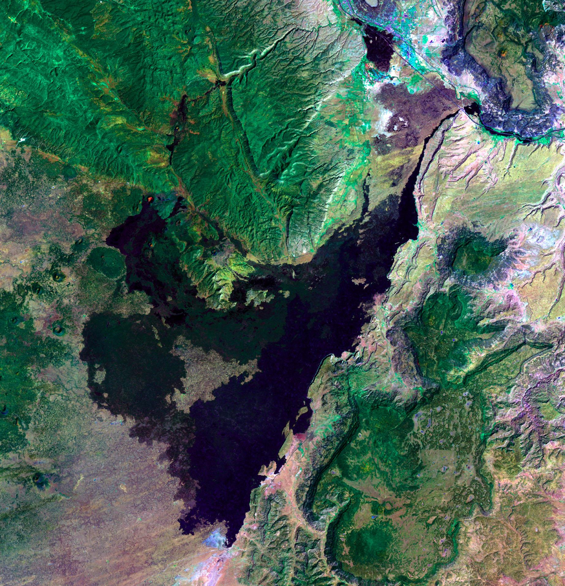 New Mexico Volcanoes.