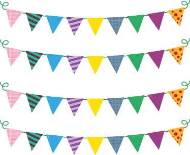 Banderines fiesta png 4 » PNG Image.