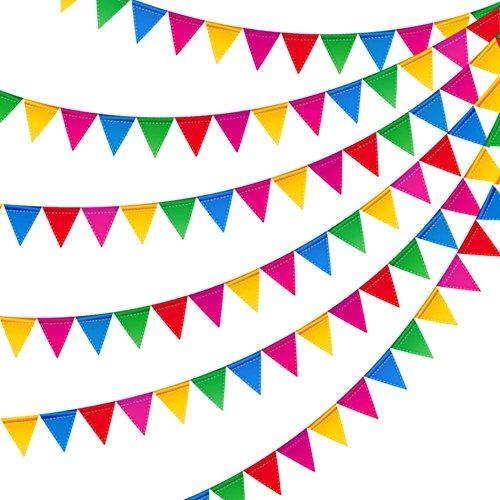 300pcs Banderines De Colores De Nylon Para Fiestas Y Tiendas.