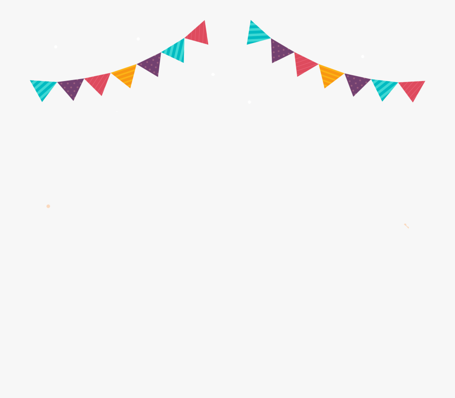 Birthday Flags Png.