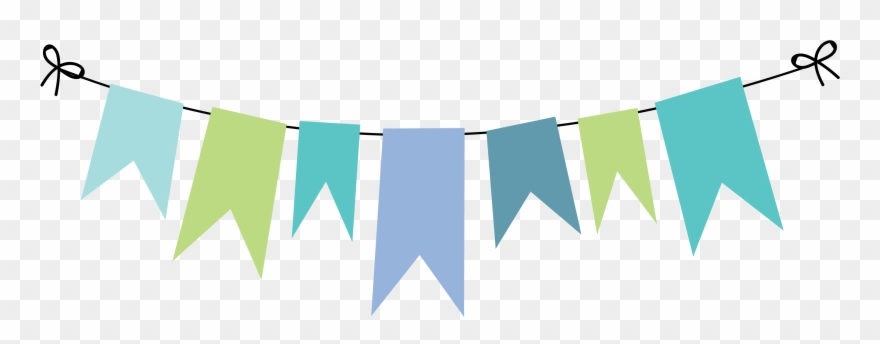 Bunting Vector Template.