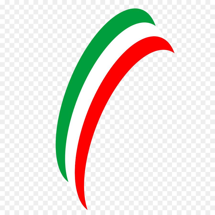 Bandiera d\'Italia e Clip art.