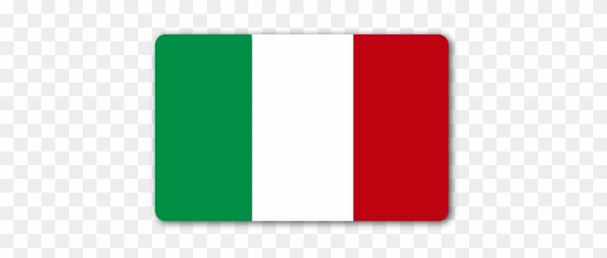 Bandera Italia Rectangular.