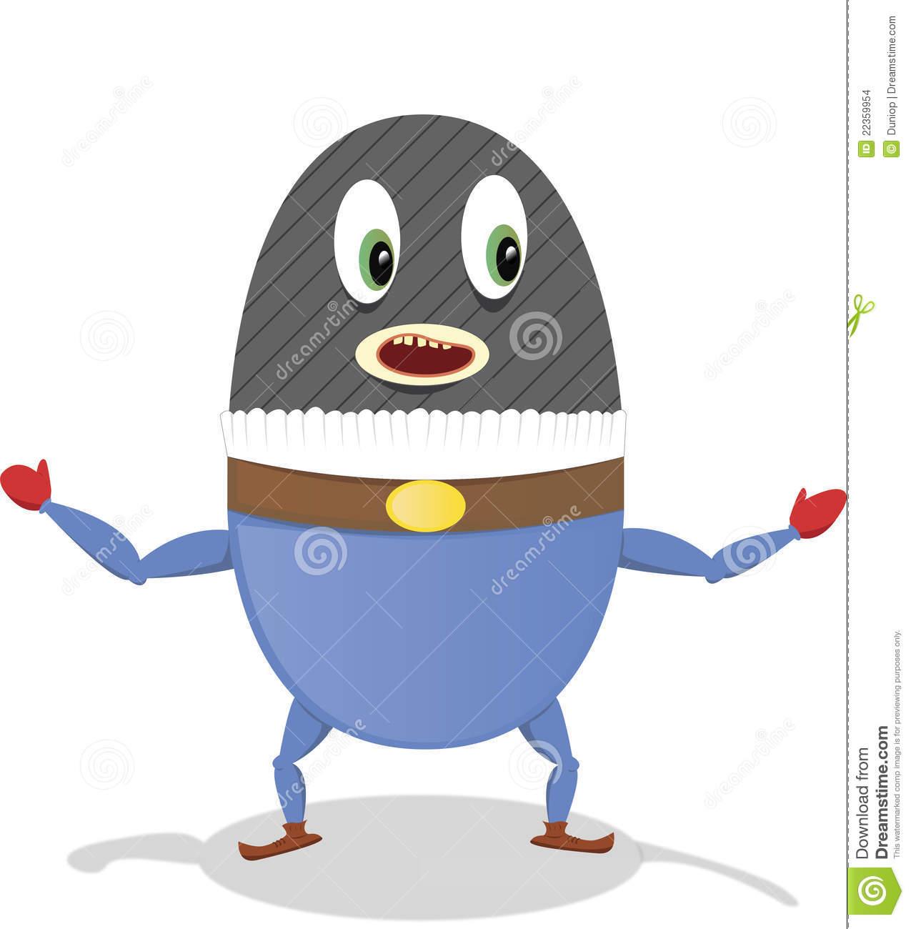 Egg Bandit Stock Images.