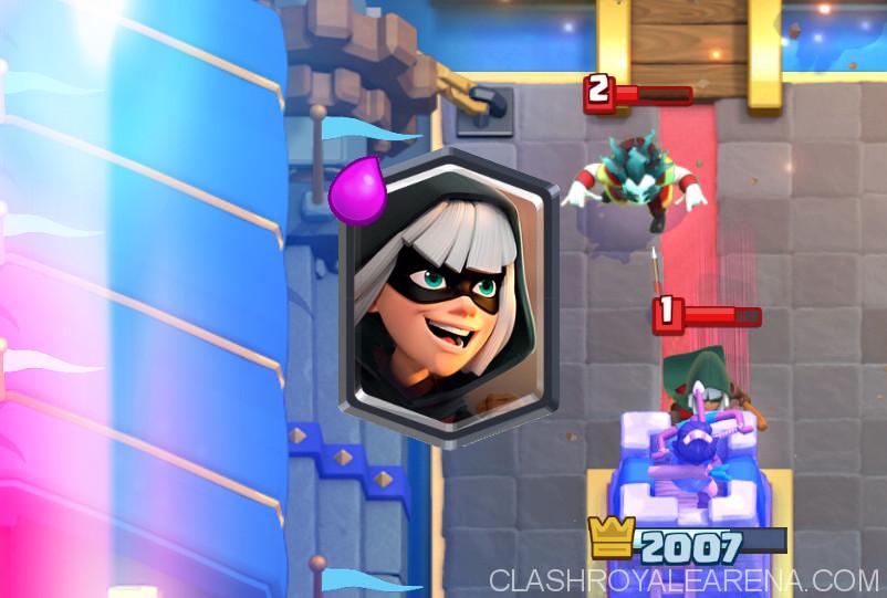 Clash Royale Bandit.